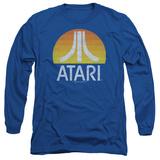 Long Sleeve: Atari- Distressed Sunrise Logo Shirt
