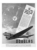 Douglas Ad Transport DC-3 Posters by  Anonymous