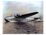 Boeing 314 Clipper of 1938 Art by  Anonymous