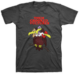 Them Crooked Vultures- Cartoon Menace T-shirts