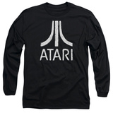 Long Sleeve: Atari- Distressed Logo Long Sleeves