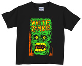 Toddler: White Zombie- Monster Yell Skjortor