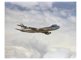 Boeing 747 Air Force One Prints by  Anonymous