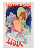 Alcazar d'ét - Lidia Prints by  Cheret