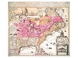 Carte La Nouvelle France 1719 Posters by Nicolas De Fer