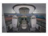 Anonymous - Boeing 787 Dreamliner flight deck - Reprodüksiyon