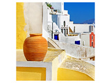 Blue Santorini I Prints by  Anonymous