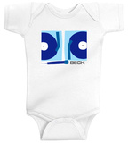 Infant: Beck- 2 Turntables & A Microphone Onesie Strampelanzug