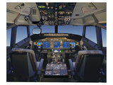 Digital 737 Flight Deck 2005 Poster by  Anonymous