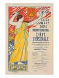 Concours de Chant d'Esnsemble Posters by  Anonymous