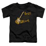 Toddler: Jeff Beck- Distressed Guitar Marquee Shirt