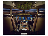 Boeing 777 Flight Deck Prints by  Anonymous
