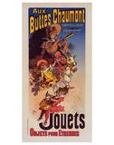 Aux Buttes Chaumont - Jouets Art by  Cheret
