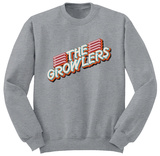 Crewneck Sweatshirt: The Growlers- Disco Logo T-Shirt