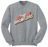 Crewneck Sweatshirt: The Growlers- Disco Logo - T-shirt