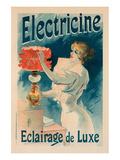 Electricine Eclairage de Luxe Prints by Lucien Lefevre