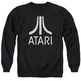 Crewneck Sweatshirt: Atari- Distressed Logo Shirts