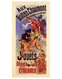 Aux Buttes Chaumont - Jouets Posters by  Cheret