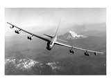 B-52 Stratofortress Mt. Rainier Print by  Anonymous