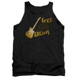 Tank Top: Jeff Beck- Distressed Guitar Marquee Tank Top