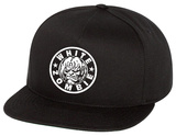 White Zombie- Classic Logo Stamp Snapback Hat