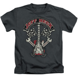 Juvenile: Jeff Beck- Superstitous Guitar Distressed T-shirts