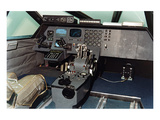 Conceptual aircraft Flight Deck Print by  Anonymous