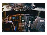 747-400 cockpit digital avionics Poster von  Anonymous