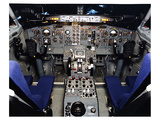 Boeing 737 1960s Cockpit Poster by  Anonymous