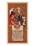 Centenaire de la Pile Voltaique Posters by Adolfo Hohenstein