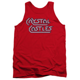 Tank Top: Atari: Crystal Castles- Distressed Logo Tank Top