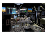 Boeing 787 Dreamliner Flight Deck Prints by  Anonymous