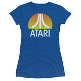 Juniors: Atari- Sunrise Logo T-Shirt