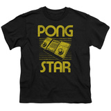 Youth: Atari: Pong- Distressed Star Shirt