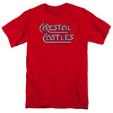 Atari: Crystal Castles- Distressed Logo T-Shirt