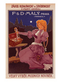 F & D Maly Praha Prints by  Anonymous