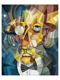 Cubist Face Posters by  Anonymous