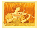 Lecons de Violon Posters by Paul Berthon