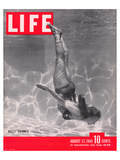 LIFE Ballet Swimmer 1945 Prints by  Anonymous