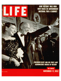 LIFE Ike & Mamie Eisenhower 1952 Prints by  Anonymous