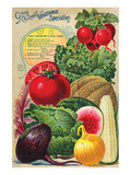 Choicest Vegetable Specialties Póster por Anonymous