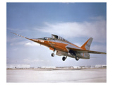 F-107 at take off Print by  Anonymous