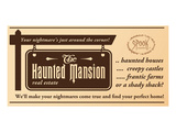 Haunted Mansion Real Estate Prints by  Anonymous
