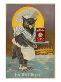 Magic Yeast - it's owl right Posters by  Anonymous