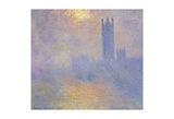Houses of Parliament Poster by Claude Monet