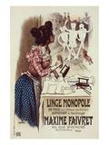 Linge monopole Maxime Faivret Prints by  Roedel