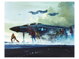 F-4 Phantom II retired 1996 Print by  Anonymous