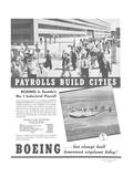 Boeing Industrial Payroll Print by  Anonymous