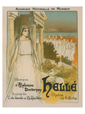 Hellé Opéra de Duvernoy Print by Théophile Steinlen