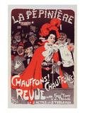 La Pépinière - Chauffons Posters by Jules-Alexandre Grun